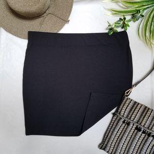 Forever 21 Black Mini bodycon skirt